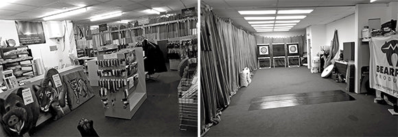 The Longbow Shop Shooting range and shop