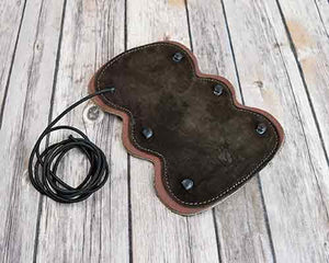 Arm Guard Suede Rounded