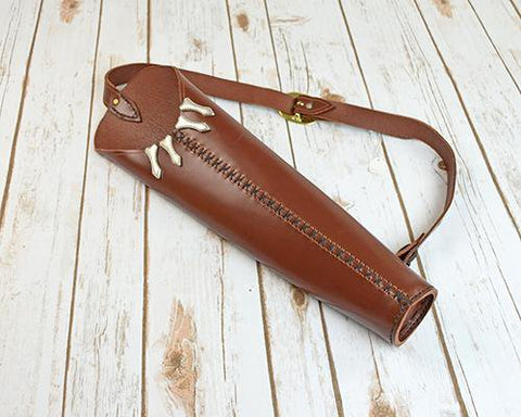 Leather Back Quiver Junior front