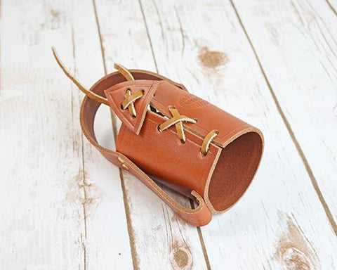Archers Equipment - Bottle Holder Leather