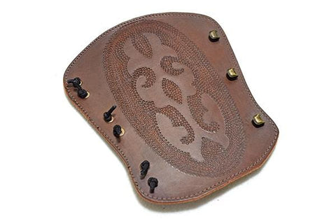 Atilla Armguard carved DOT001
