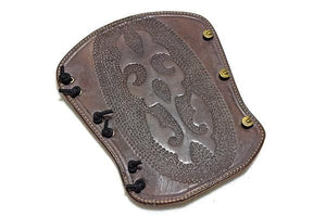 Atilla Armguard carved DOT004