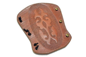 Atilla Armguard carved DOT005