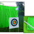 Arrow netting kit for archery at home green
