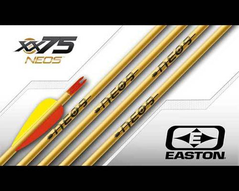 Easton Arrows Neos aluminium shafts