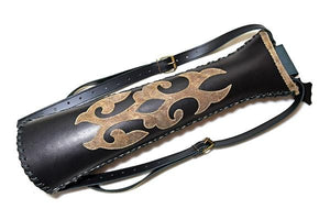 Atilla Unique leather back quiver UNI001