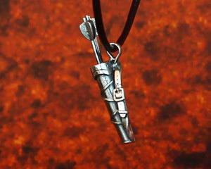Archers Equipment - Archers Jewellery Back Quiver Pendant