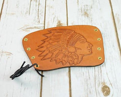 Archers Equipment - Arm Guard Leather Handmade American Native Indian
