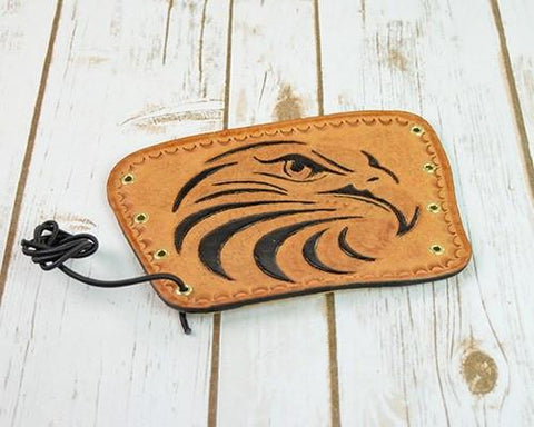Archers Equipment - Arm Guard Leather Handmade Eagle