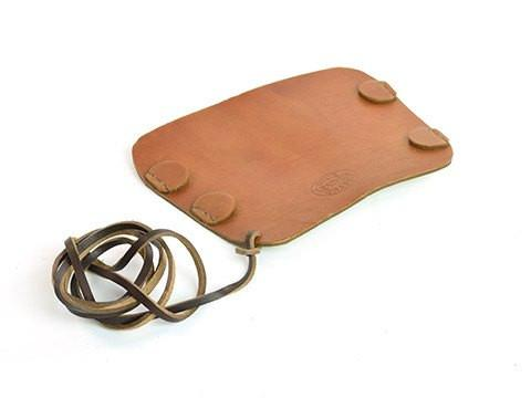 Archers Equipment - Arm Guard Leather Small Disc