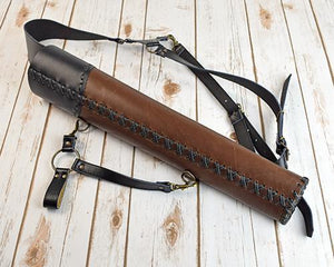 Archers Equipment - Atilla Dual Purpose Side And Back Quiver AASBQD12