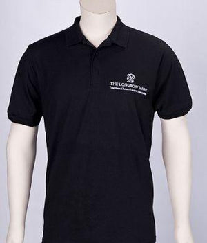 Archers Equipment - Black Polo Shirt With Logo