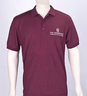 Archers Equipment - Burgundy Polo Shirt With Logo