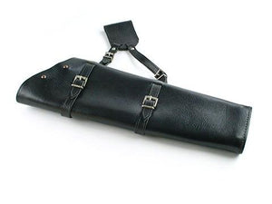 Archers Equipment - Leather Handmade Side Quiver Black LH