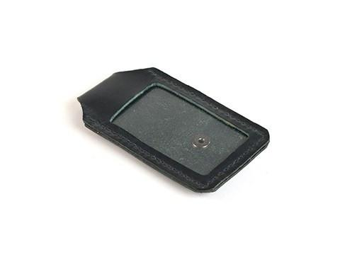 Archers Equipment - Leather Membership Card Holder Black
