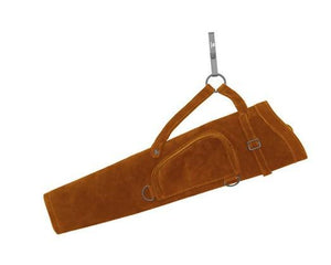 Archers Equipment - Quiver Bear Pack Suede Leather Brown