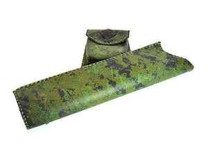 Archers Equipment,Sales - Stormer Premium Leather Side Quiver Camo RH