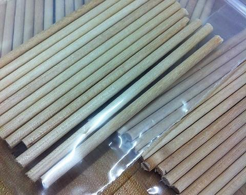 Arrows And Arrow Making - Bamboo Shaft Plugs 3mm