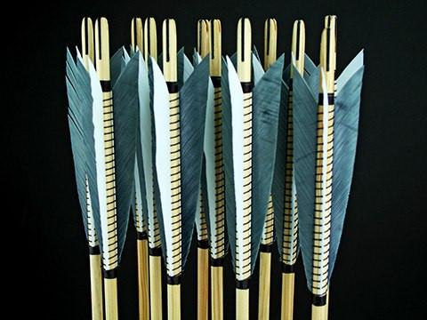 Arrows And Arrow Making,Bows - Medieval Wood Arrows Custom