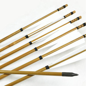 Arrows And Arrow Making - Deluxe Ready Made Bamboo Arrows