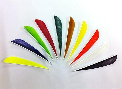 "Arrows And Arrow Making - Fletching Feathers Parabolic 4"" Gateway"