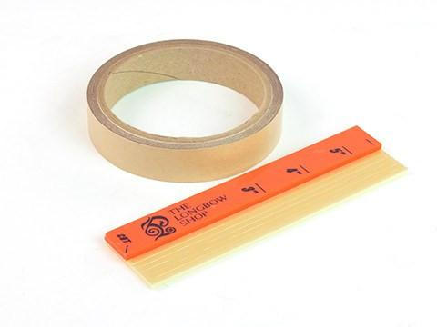 Arrows And Arrow Making - Fletching Tape Cutting Board And Tape Roll Kit