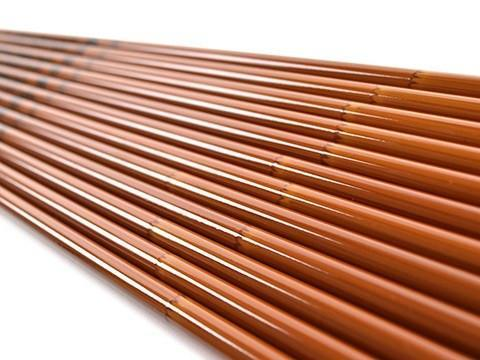 Arrows And Arrow Making - Penthalon Traditional Bamboo Carbon Shafts