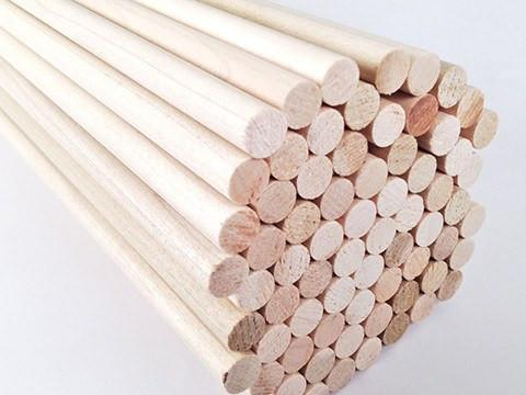 Arrows And Arrow Making - Poplar Arrow Shafts 3/8