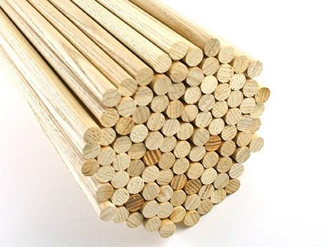 Arrows And Arrow Making - Premium Ash Arrow Shafts 12mm