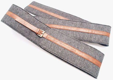 Bow Accessories - Falco Bow Bag Leather And Fleece