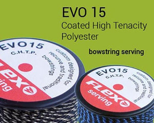 Bow string serving thread Flex EVO 15