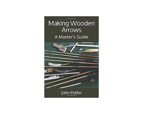 Making wooden arrows by John Potter