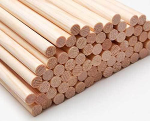 Wooden Arrow Shafts rear tapered Spruce