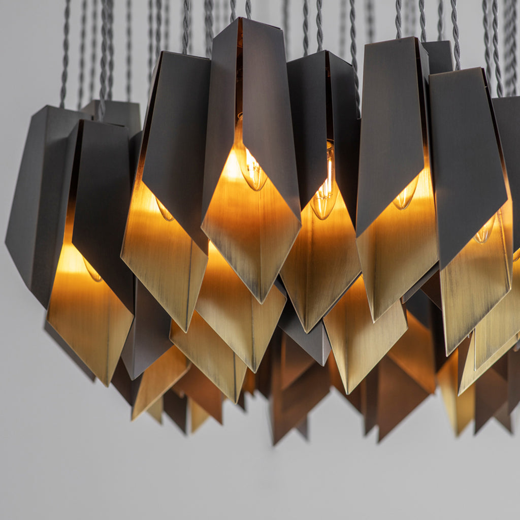 Fold Ellipse Chandelier