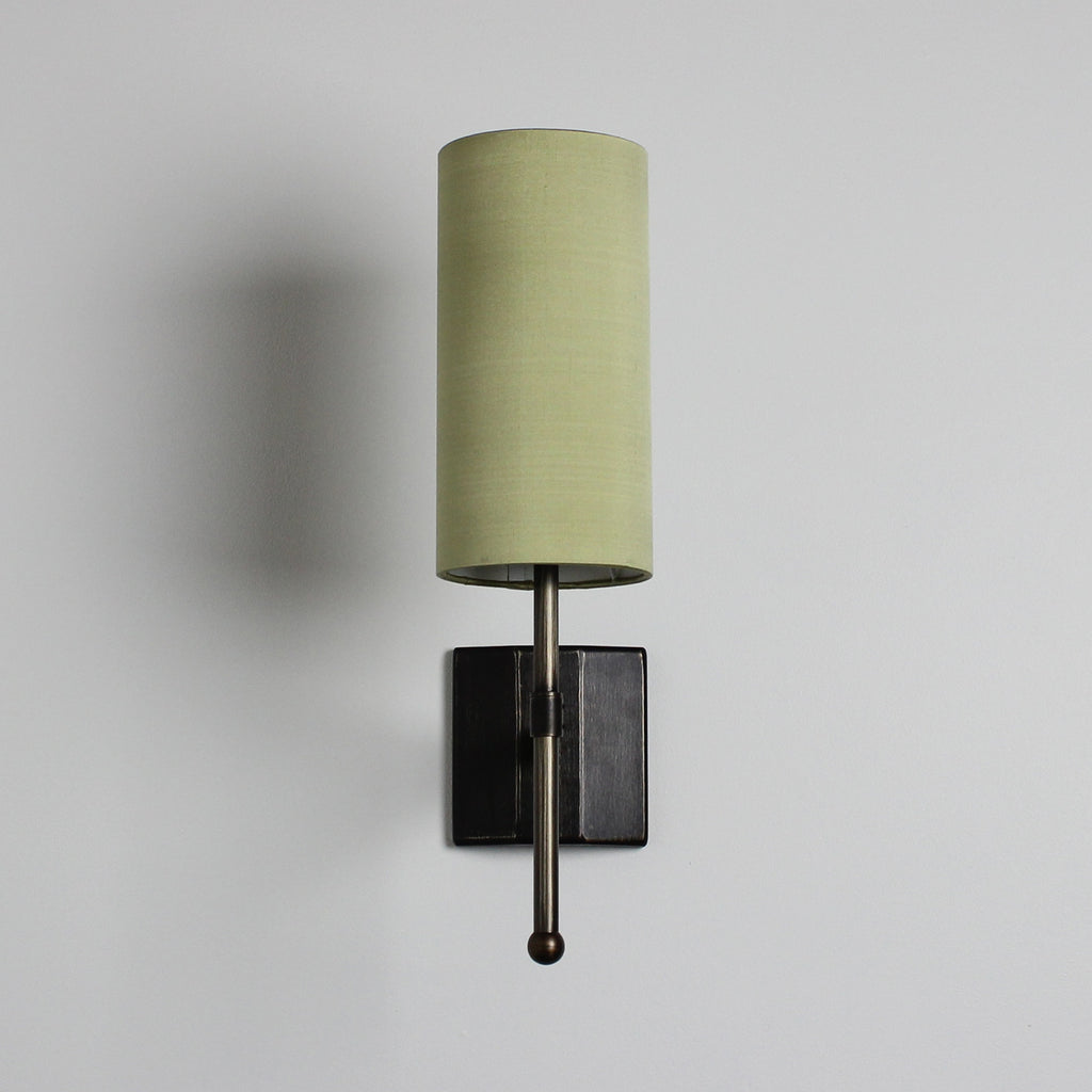 Stem Single Wall Light with Silk