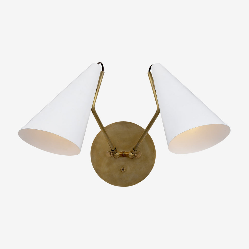 Clemente Wall Light - Double