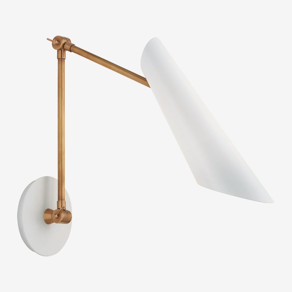 Franca Double Library Wall Light