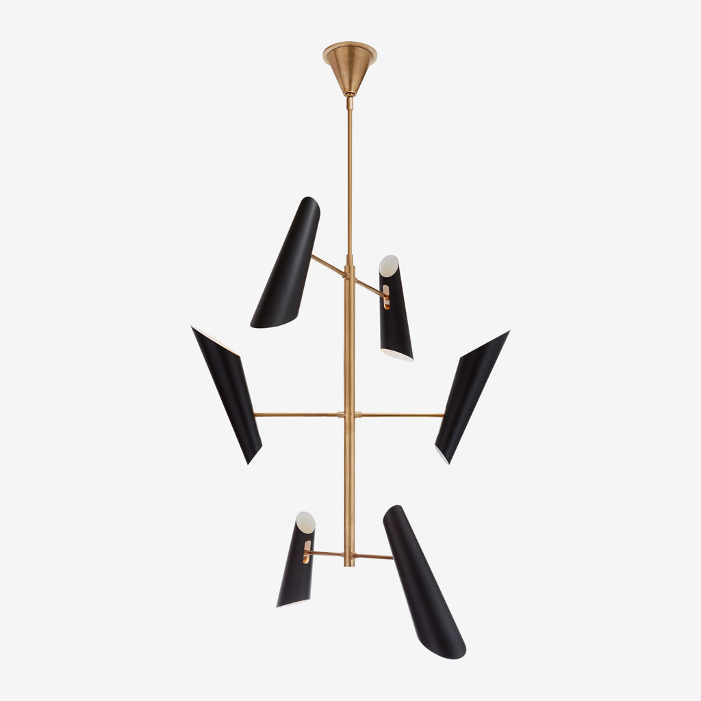 Franca Tall Pivoting Chandelier