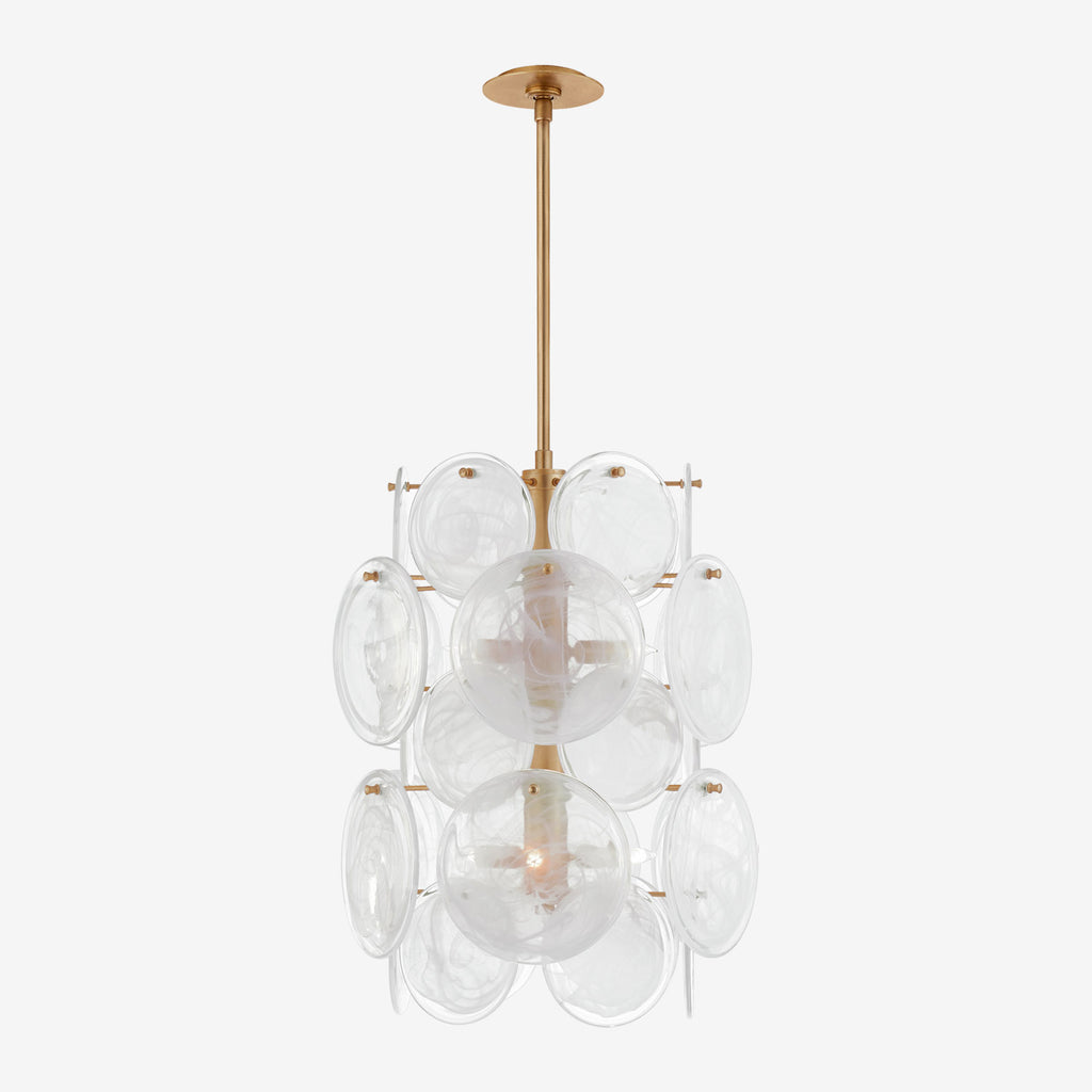 Loire Medium Barrel Chandelier