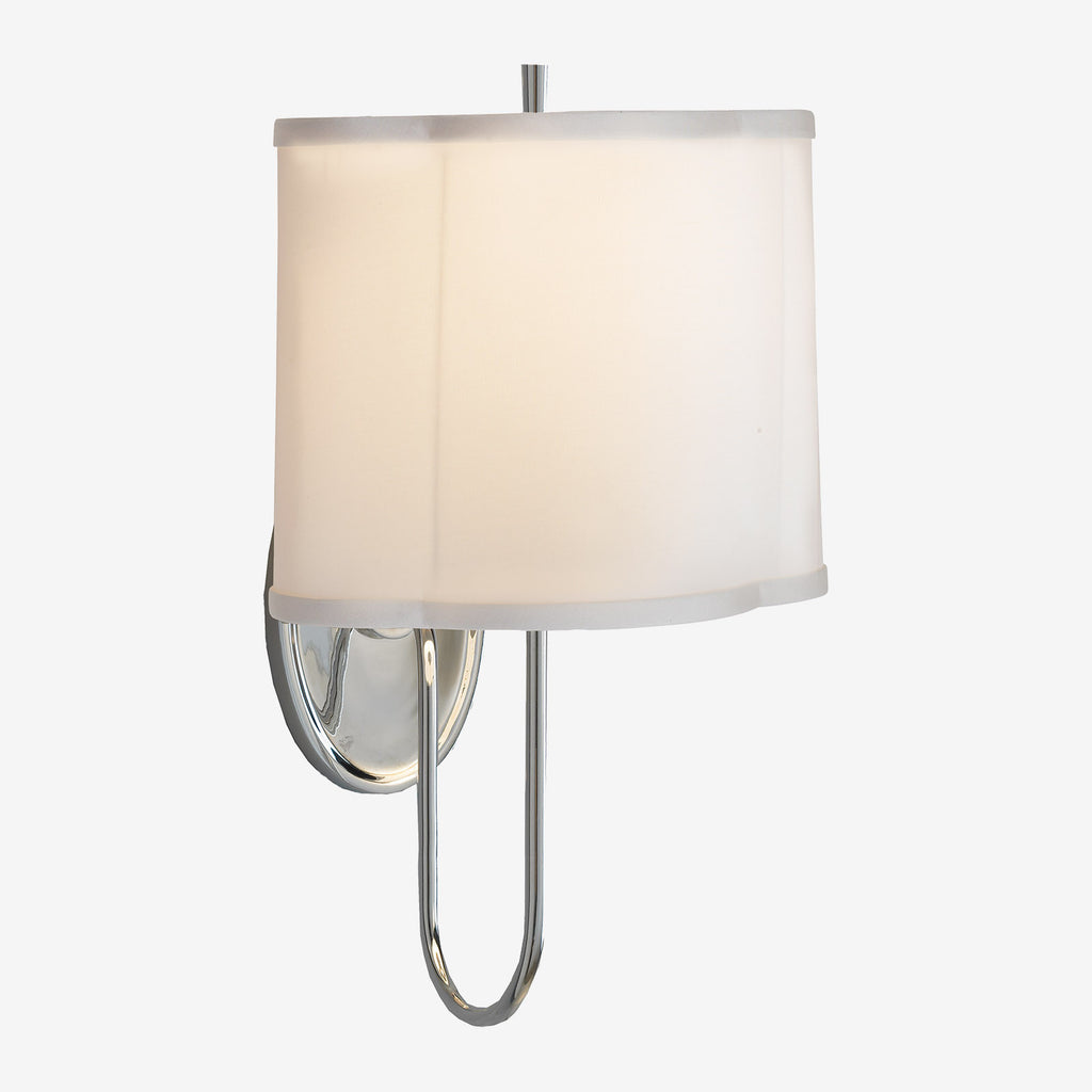 Simple Scallop Wall Sconce