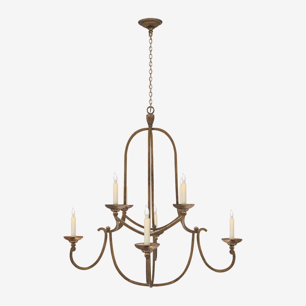 Flemish Medium Round Chandelier