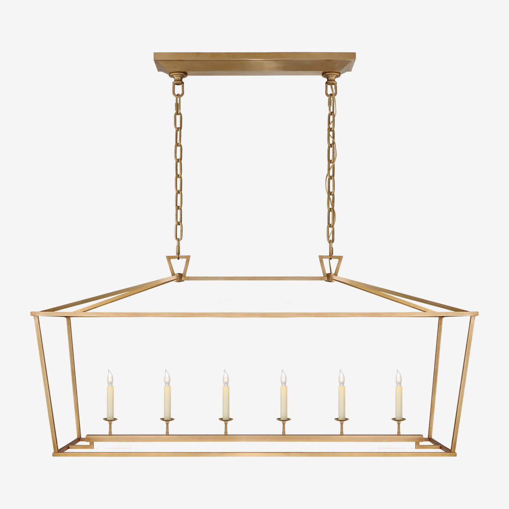 Darlana Linear Pendant (Solid Brass Finish)