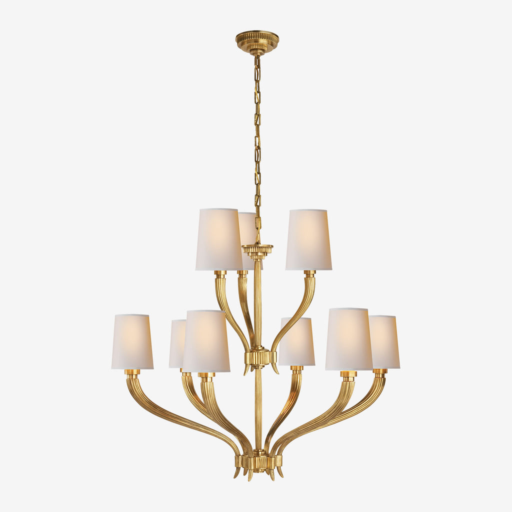 Ruhlmann Two-Tier Chandelier