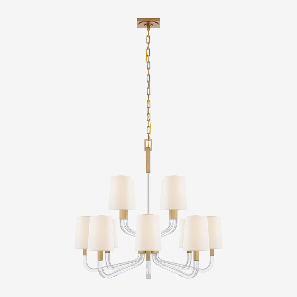 Reagan Medium Two Tier Chandelier