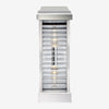 Dunmore Curved Glass Louver Sconce