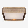 Precision Large Square Flush Mount