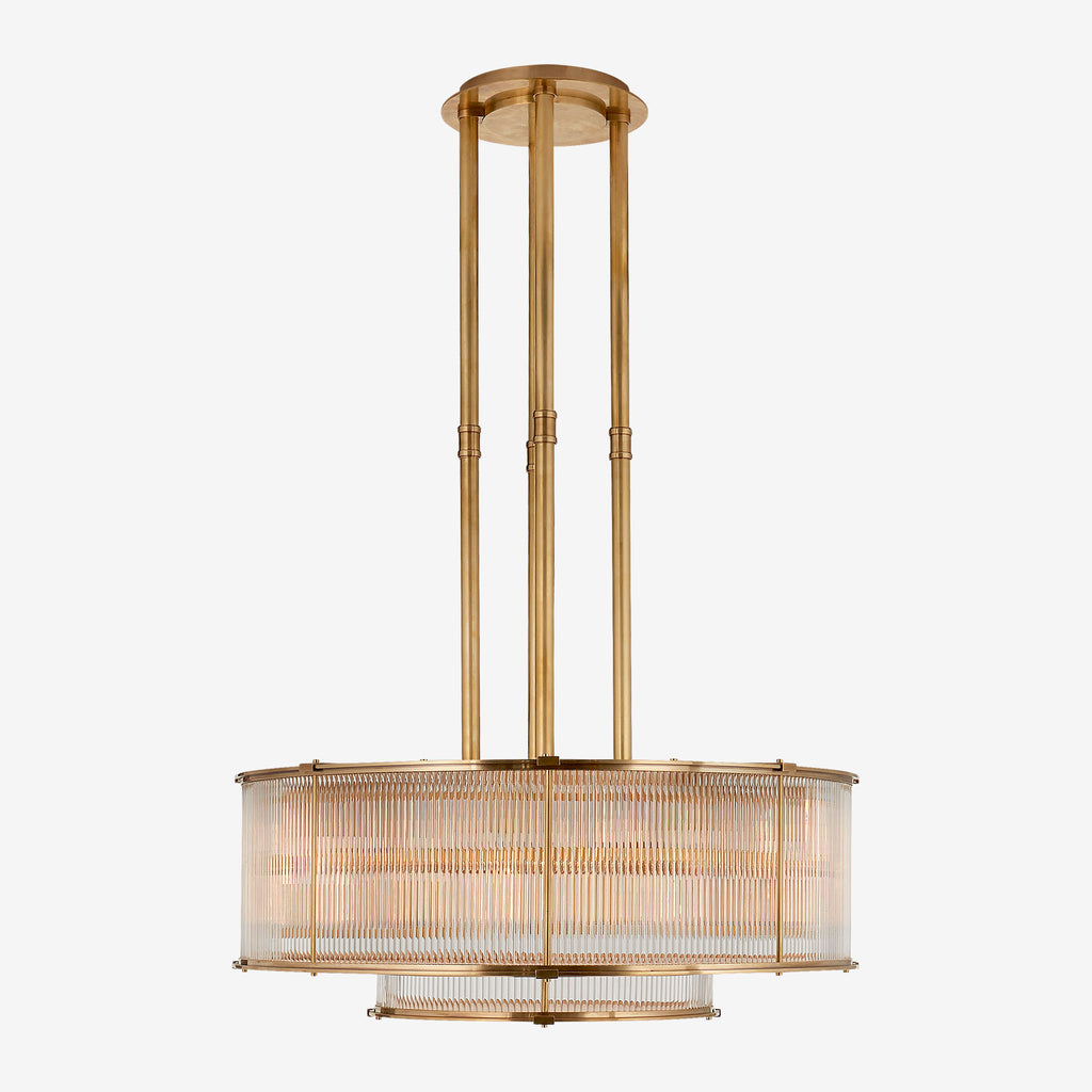 Allen Large Tiered Chandelier