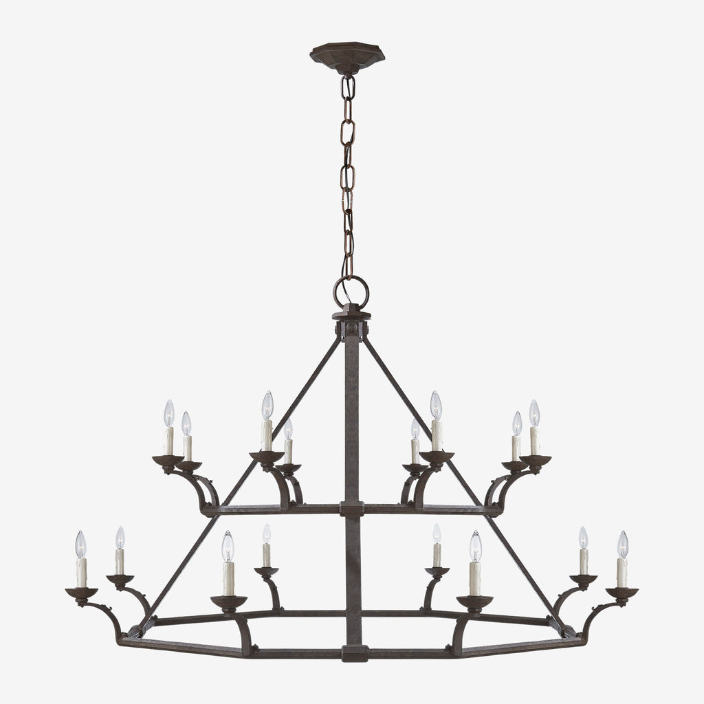 Robertson Double Tier Chandelier
