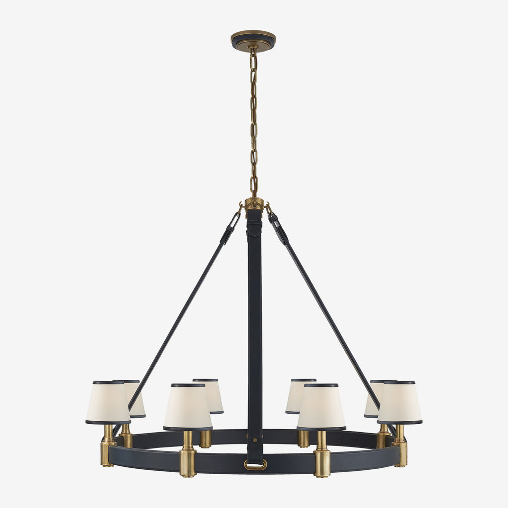 Riley Large Ring Chandelier