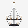 Riley Large Two Tier Chandelier